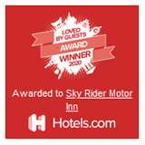 Loved by Guests 2020 Hotels.com Award Blue Mountains Sky Rider Motor Inn - Katoomba, NSW